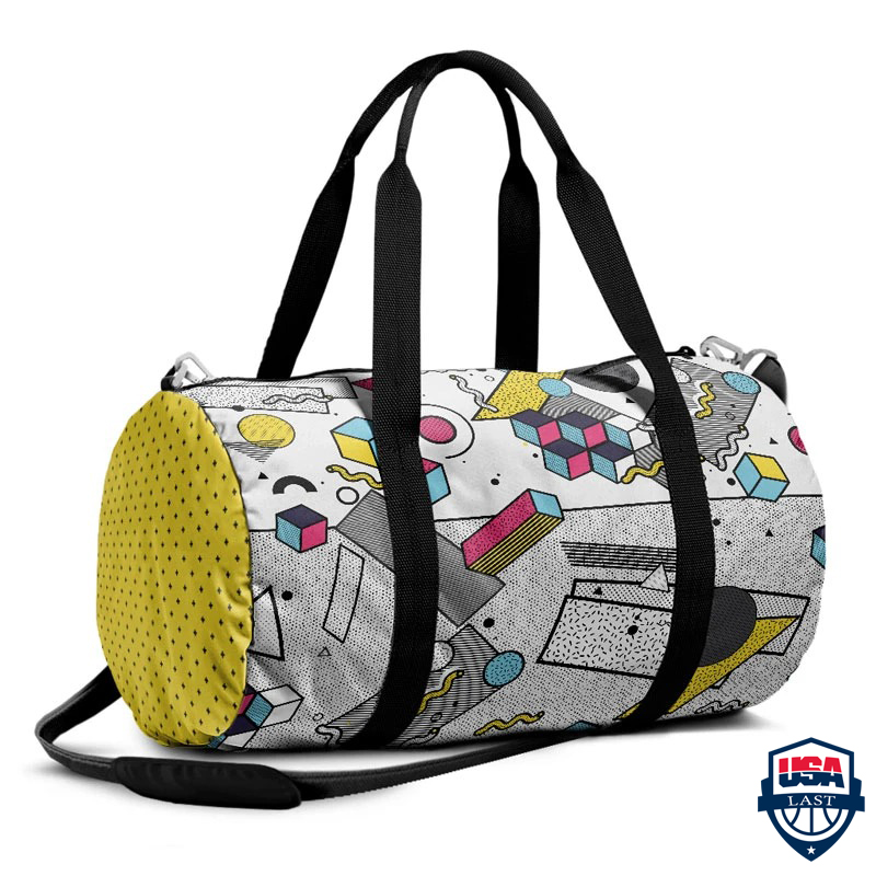Cubes Collection Duffle bag