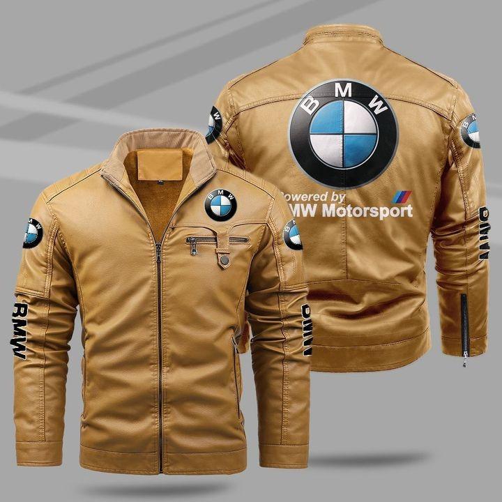 BMW Fleece Leather Jacket 1
