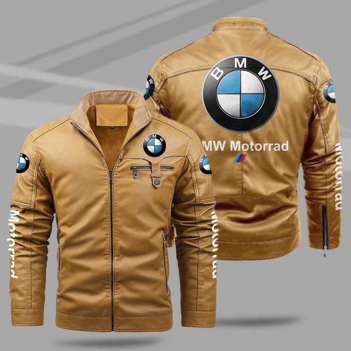 BMW Motorrad Fleece Leather Jacket 1