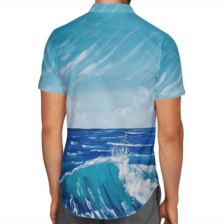 Batman Joker Surfing Short Sleeve Hawaiian Shirt 1