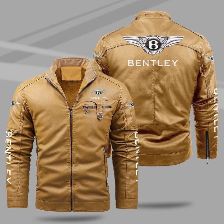 Bentley Fleece Leather Jacket 1