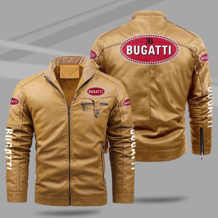 Bugatti Fleece Leather Jacket 1