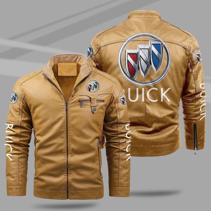 Buick Fleece Leather Jacket 1