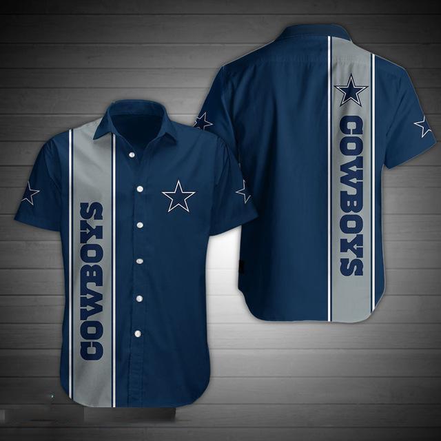 Dallas Cowboys Short Sleeve Hawaiian Shirt