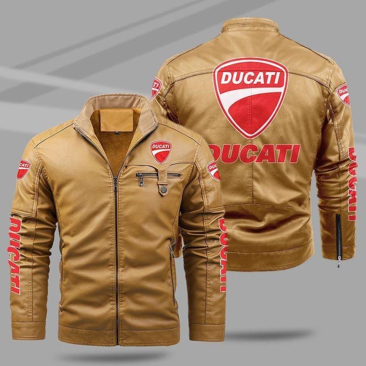 Ducati Fleece Leather Jacket 1