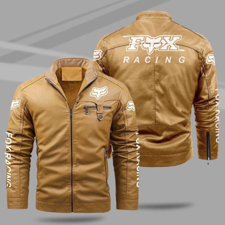 Ford Racing Fleece Leather Jacket 1