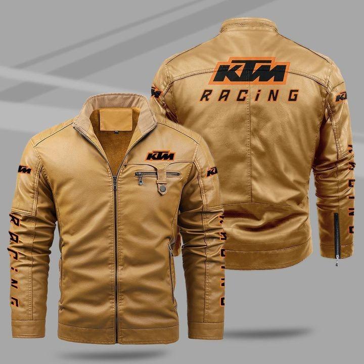 KTM Fleece Leather Jacket 1