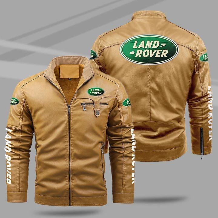Land Rover Fleece Leather Jacket 1