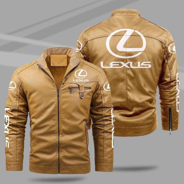Lexus Fleece Leather Jacket 1