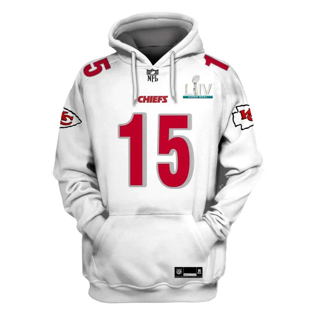 NFL Kansas City Chiefs Custom Name Number 3D Full Print Shirt On Usalast