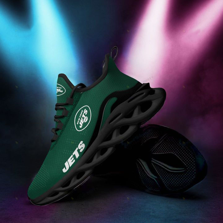NFL New York Jets 3D Max Soul Clunky Sneaker Shoes
