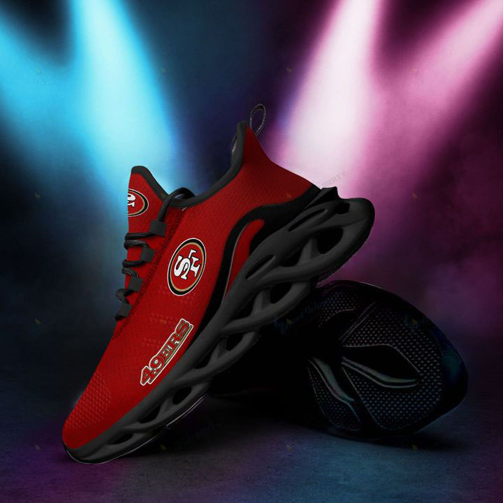 NFL San Francisco 49ers Max Soul Chunky Sneaker Shoes