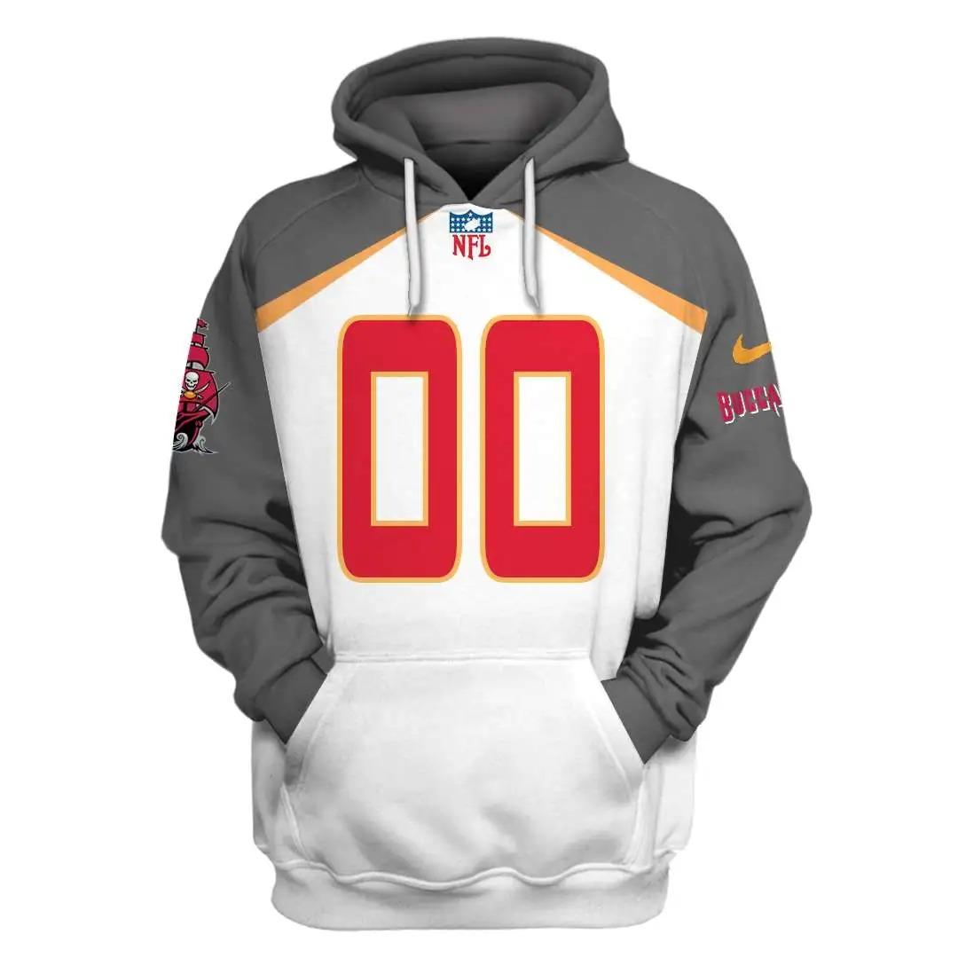 NFL Tampa Bay Buccaneers Custom Name Number 3D Full Print Shirt On Usalast