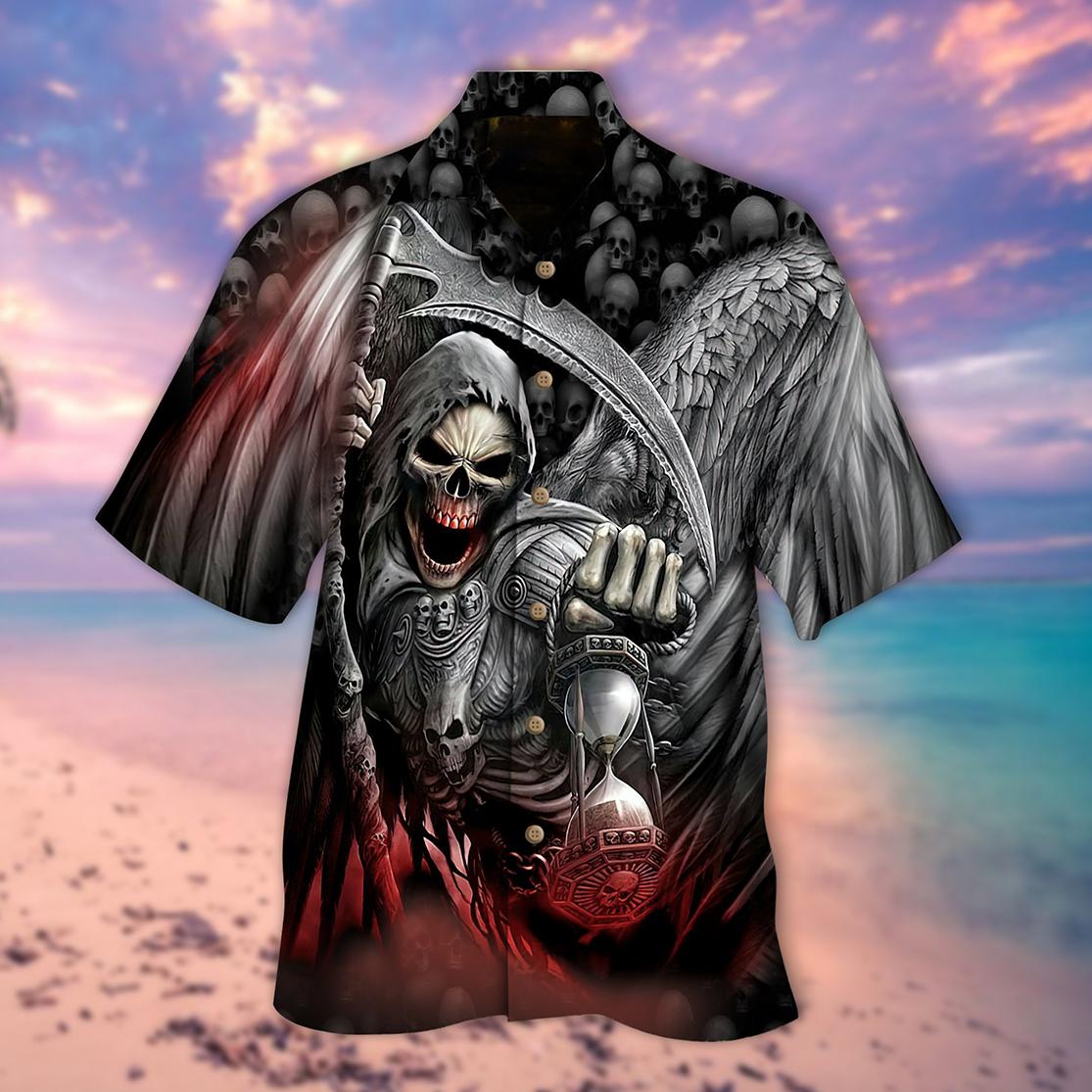 Death scythe hawaiian shirt