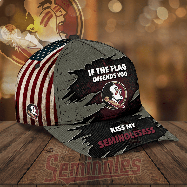 Florida State Seminoles kiss my seminoles ass hat cap