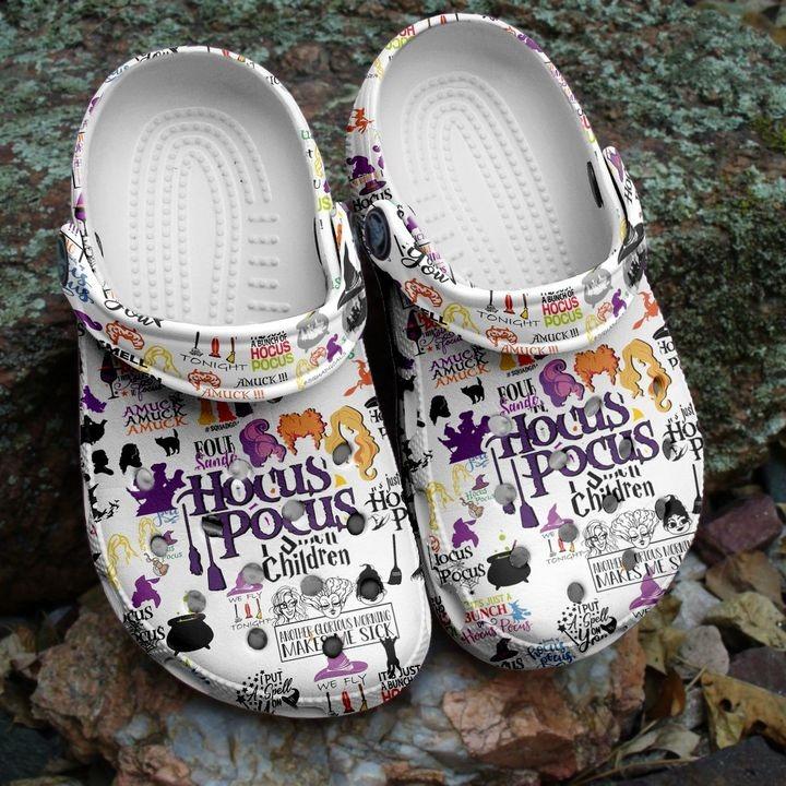 Halloween Hocus Pocus Crocs Shoes