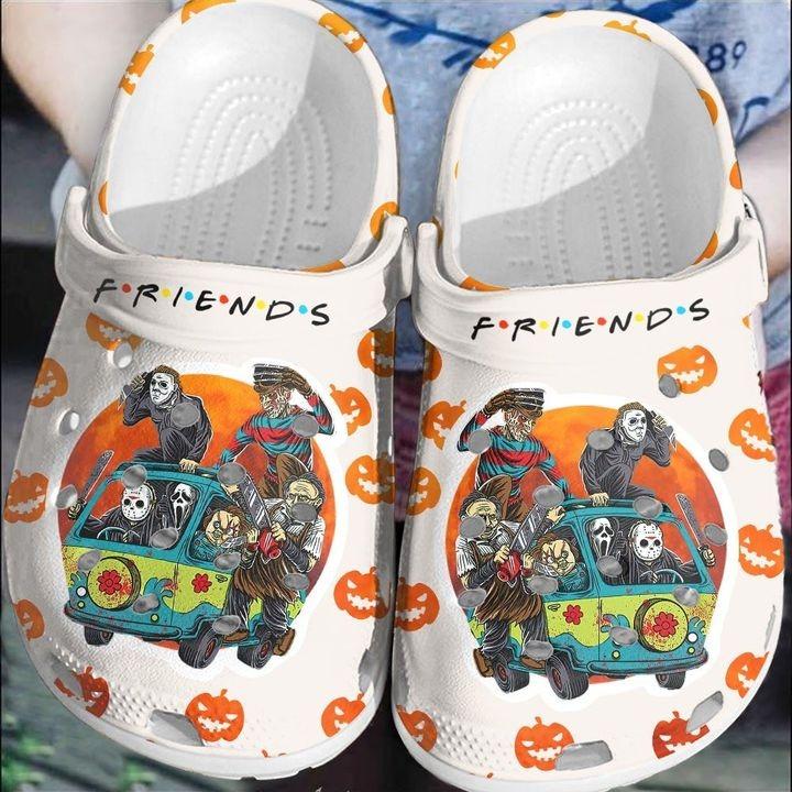 Horror Character Friends Crocs Crocband Shoes