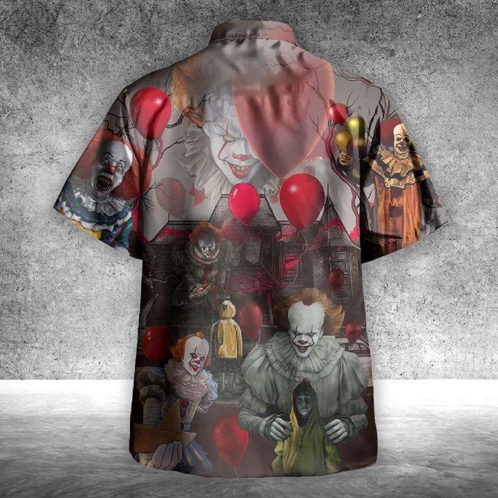 IT Pennywise You'll Float Too Unixes Hawaiian Shirt