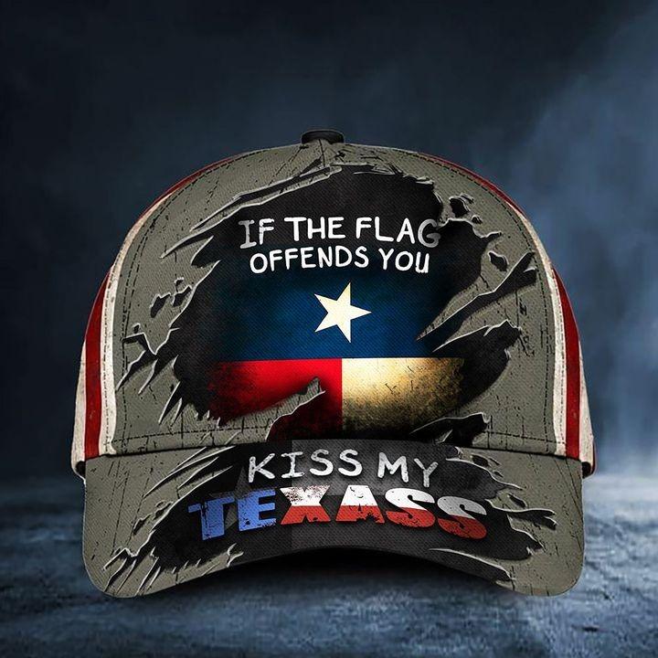 If You Flag Offends Kiss My Texass Baseball Cap