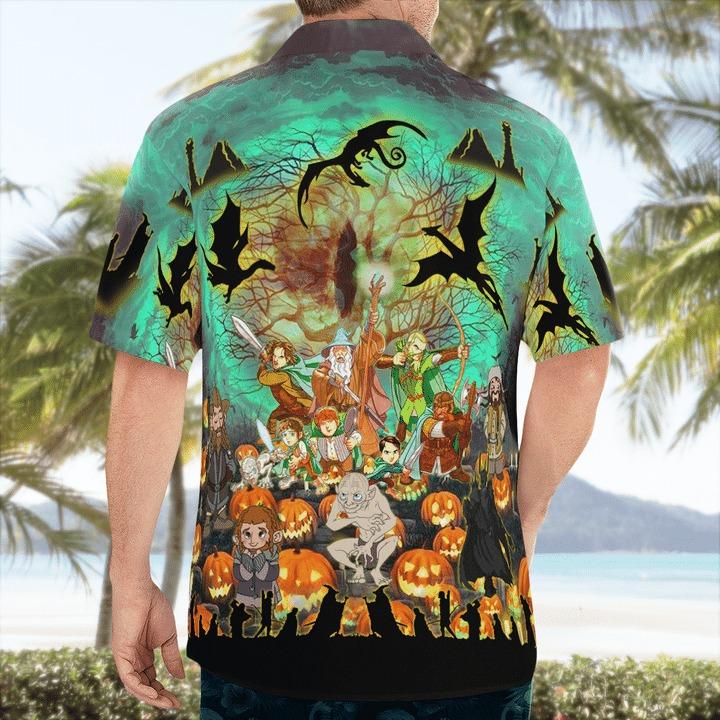 Lord Of The Ring in Halloween Hawaiian Shirt
