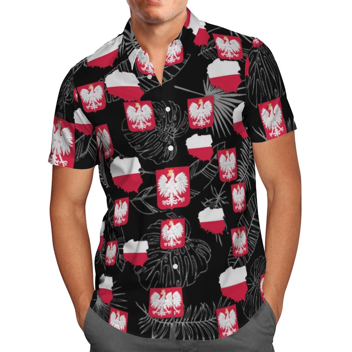 Poland proud polish for life hawaiian shirt