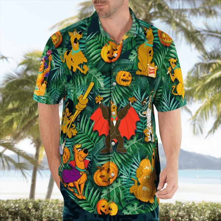 Scooby Doo I've been ready for halloween hawaiian shirt