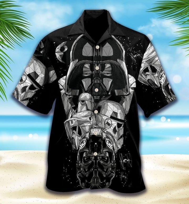 Star Wars Dark Short Sleeve Hawaiian Shirt