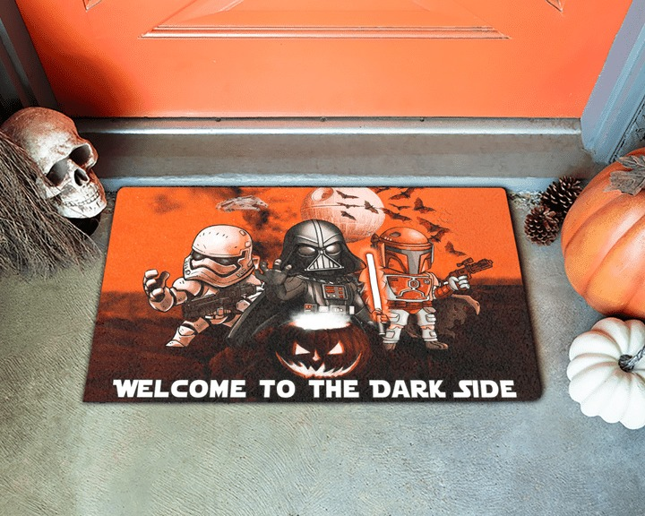Star Wars Darth Vader Stormtrooper Boba Fett Halloween Doormat