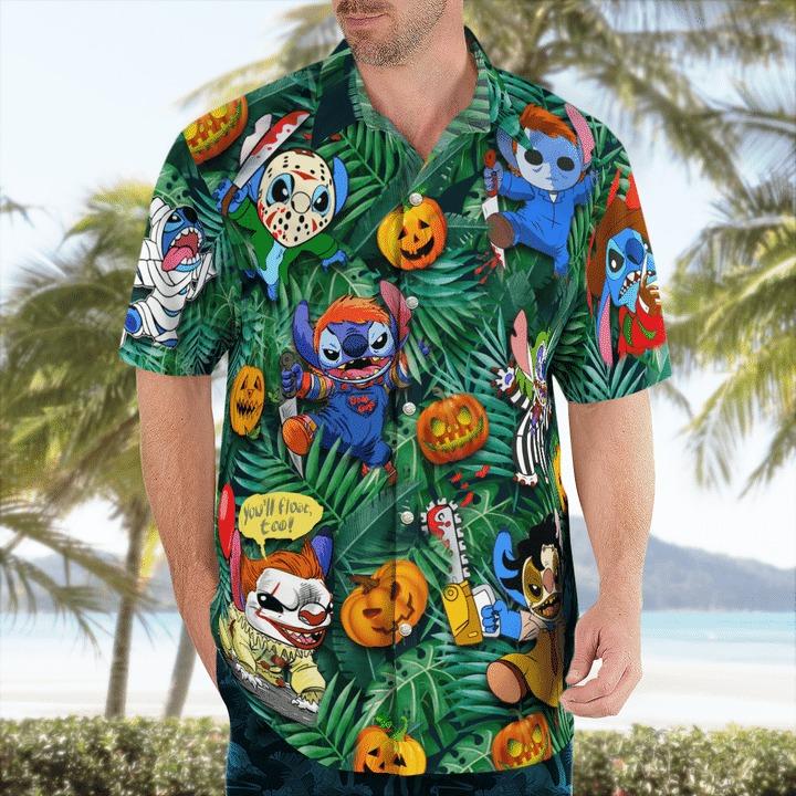 Stitch tis the season to be scared halloween shirt
