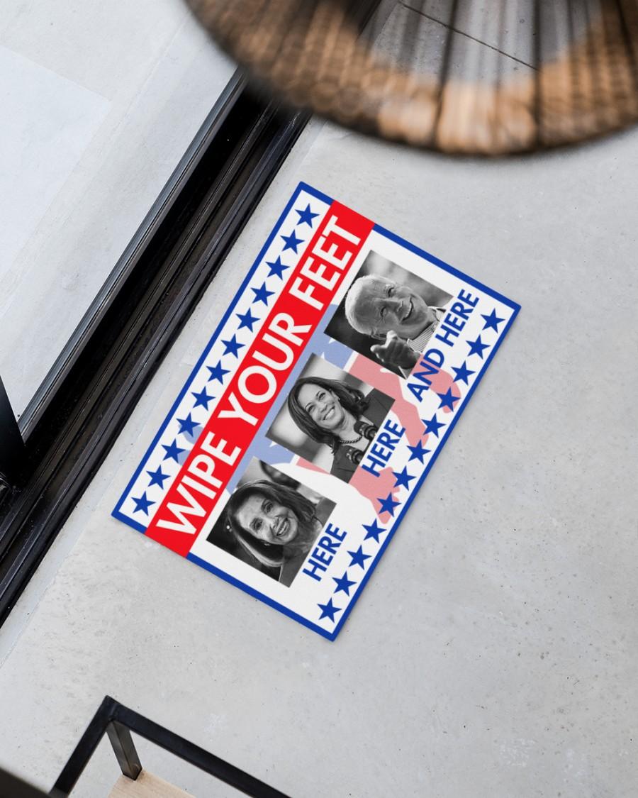 Wipe Your Feet Here Democratic Party Doormat
