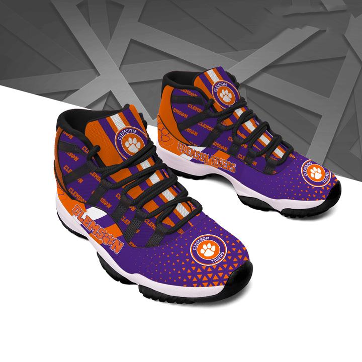 Clemson Tigers Air Jordan 11 Shoes Sneaker 1