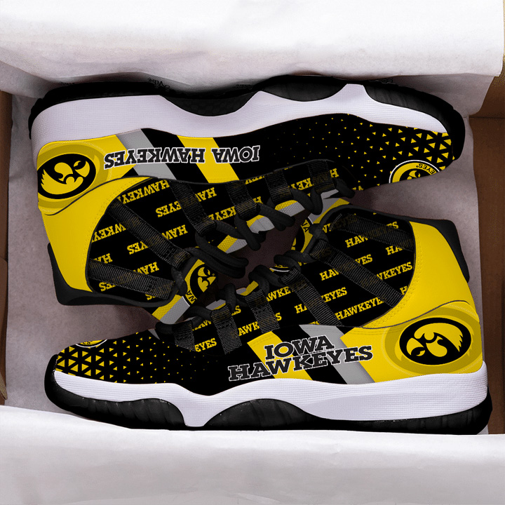 Iowa Hawkeyes Air Jordan 11 Shoes Sneaker