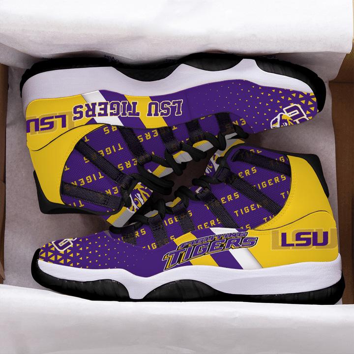 LSU Tigers Air JD11 Shoes Sneaker