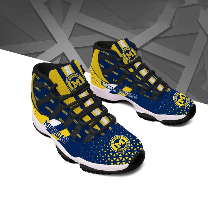 Michigan Wolverines Air Jordan 11 Shoes Sneaker