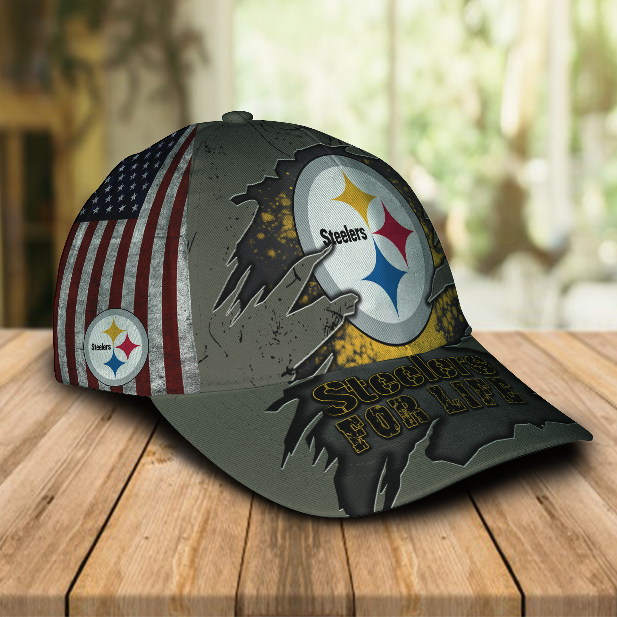 Pittsburgh Steelers For Life Sport Cap For Fans