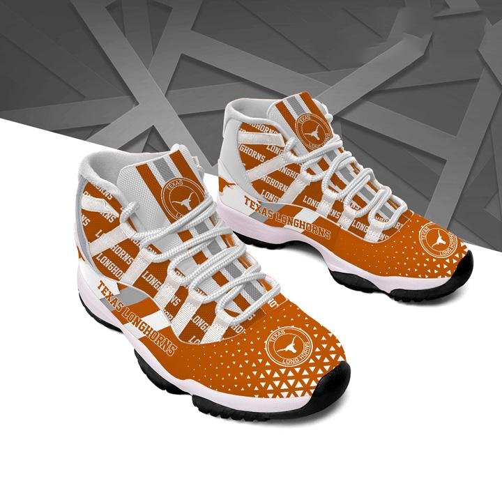 Texas Longhorns Air Jordan 11 Shoes Sneaker